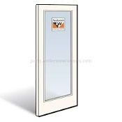 "FRENCHWOOD OUTSWING STATIONARY DOOR 3'1"" X 6'11"""