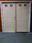 "TWIN ENTRANCE UNFINISHED DOOR ROUGH 75 1/4"" x 82 1/2"""