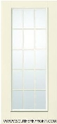 "FRENCH WOOD HINGED PATIO INSWING DOOR ROUGH 31"" X 83"""