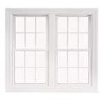 "DOUBLE HUNG WHITE R/O 76"" X 57 1/4"""